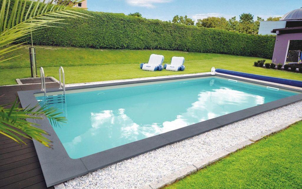 Styropor pool set